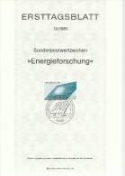 ALEMANIA DOCUMENTO PRIMER DIA BONN ENERGIA SOLAR ELECTRICIDAD - Sciences
