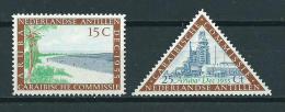 1955 Netherlands Antilles Complete Set Caribbean Congress MNH,Postfris,Neuf Sans Charniere - Curaçao, Nederlandse Antillen, Aruba