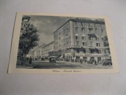 MILANO   Piazzale Baracca Con PASTICCERIA MOTTA PANETTONI Cartolina  NON  Viaggiata Anni 30 - Milano