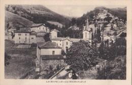 07 LACHAPELLE Sous ROCHIPAULE  Jolie Vue Sur Le VILLAGE  Maisons EGLISE Route à Travers CHAMPS - France
