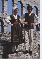 (IU22) YUGOSLAVIE . ISTRIAN FOLKLOR. COSTUMES - Yugoslavia