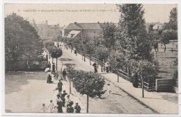 CABOURG - Avenue De La Gare - Vue Prise De L' Hotel De La Poste  (74152) - Cabourg