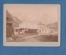 Photo Ancienne - LE LAUTARET Et Les Glaciers De L' Homme - 1903 - Hautes Alpes Briançon Bourg D'Oisans - Photographs