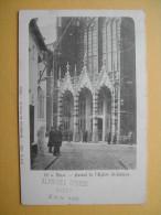 DIEST. L'Eglise Saint-Sulpice. Le Portail. - Diest