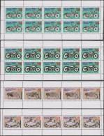 Pays-Bas Vers 2001. Poste Privée Selectpost De Haarlem. Motos, Feuillets. Curiosités D'impression. BMW, BSA (GB) Panther - Motos