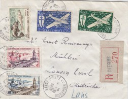 LETTRES  1958 - St.Pierre Et Miquelon