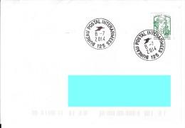 Dernier Jour Bureau Postal Interarmées 125 Bpi 125 - Militaire Stempels Vanaf 1900 (buiten De Oorlog)