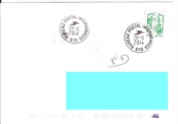 Dernier Jour Bureau Postal Interarmées 610 Bpi 610 - Militaire Stempels Vanaf 1900 (buiten De Oorlog)