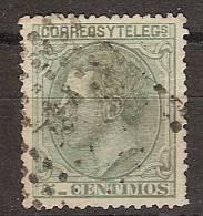España U 0201 (o) Alfonso XII. 1879 - Gebraucht