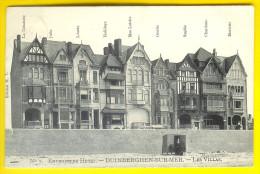 DUINBERGEN-SUR-MER : LES VILLAS MET HUN NAAM - HEIST HEYST LITTORAL KUST KNOKKE KNOCKE HÔTEL Nr: 1889 - Heist