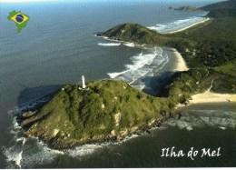 Postcard - Ponta Das Conchas Lighthouse, Brazil. B - Lighthouses