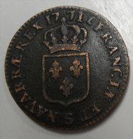 Monnaie Louis XV N°280 Sol à La Vieille Tête  1771 S (Reims?) Par Jean-Baptiste Cliquot ? Voir Nombreux Scan Pour Détail - 987-1789 Monnaies Royales
