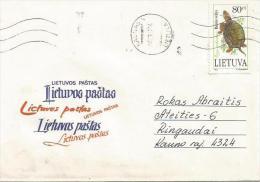 Lithuania 1994 Kaunas European Pond Turtle Emys Orbicularis Domestic Cover - Tortues