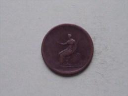 1806 - PENNY / KM 662 (?) ( Uncleaned Coin - For Grade, Please See Photo ) !! - 1662-1816 : Antiche Coniature Fine XVII° - Inizio XIX° S.