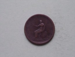 1806 - PENNY / KM 662 (?) ( Uncleaned Coin - For Grade, Please See Photo ) !! - 1662-1816 : Acuñaciones Antiguas Fin XVII° - Inicio XIX° S.