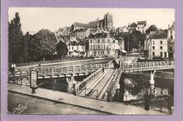 Dépt 72  -  LE MANS -  Pont En X Construit En 1898 Pour Le Passage Des Tramways  -  Photo Véritable - Le Mans