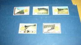 Lot De 5 Timbres De 1980  Thème Jeux Olympiques - Collections