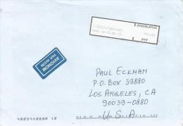Jugoslavija Yugoslavia 2002 Krusevac Meter Franking Self-adhesive Label With Preprinted Frame In Black ATM EMA Cover - 1992-2003 Federale Republiek Joegoslavië