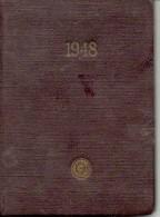 Rusia USSR 1948 Handbook Of Power Engineer Calendar Circulation Of 3,000 Copies - Calendarios