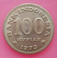 Indonesia 100 rupiah 1973