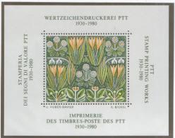 Schweiz - 50 Jahre PTT  - Vignette - Schweiz