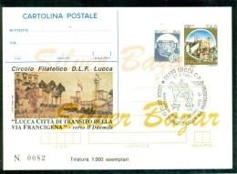 INTERO POSTALE - INTERI POSTALI - CARTOLINA POSTALE - IPZS - I.P.Z.S.-LUCCA-BORSE E SALONI COLLEZIONISMO - 6. 1946-.. Repubblica