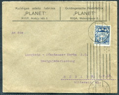 Latvia Riga PLANET Cover - Berlin Germany - Latvia