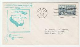 1950 SAN JOSE SANTA CLARA County EVENT COVER California Statehood  USA Stamps - United States