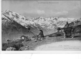 Saurat: Les Baratous A Gourbit Et Pic Des Trois Seigneurs Ct:301 - Other Municipalities