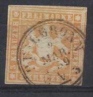 Germany (Wurttemberg 1857 (o) Mi.7  (Heilbronn 2 Mar 1859) - Wuerttemberg
