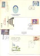 LOTES DE 200 SOBRES Y TARJETAS DEL URUGUAY FDC O SPECIAL COVERS CIRCULADOS Y NO CIRCULADOS DIFERENTES - Kilowaar (max. 999 Zegels)
