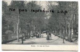 - Roma - Un Viale Del Pincio, Belle Animation, Poucettes, Précurseur, Non écrite, TBE, Scans. - Parks & Gardens
