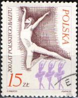 POLONIA - 1985 - 200° ANNIVERSARIO DEL BALLETTO POLACCO - Oblitérés