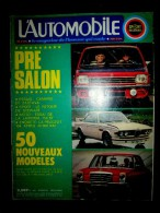 L´AUTOMOBILE #328 Sept.1973 Auto Car Sport Course Formule 1 Rallye Essais CHEVROLET Camaro Z28 ZASTAVA 1100 ! - Auto/Motor