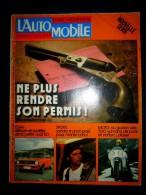 L´AUTOMOBILE #343 Déc. 1974 Auto Car Sport Course Formule 1 Rallye Essais AUDI 50 GL ! - Auto/Moto