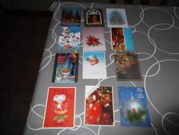 LOT Van 100 Postkaarten  KERST - EN NIEUWJAAR - Andere