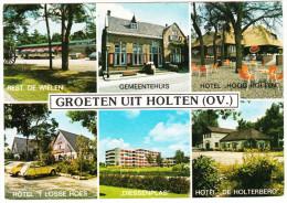 Holten: CITROËN 2CV - Rest. De Wielen, Hotel De Holterberg, Hoog Holten & T Losse Hoes, Diessenplas En Gemeentehuis - Toerisme