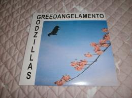 Les GODZILLAS - Greedangelamento - LP - 25cm - LARSEN RECORDS - SEEDS - Wanda JACKSON - Adriano CELENTANO - The FALL - Rock