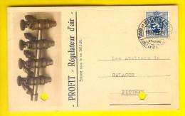 FABRIQUE PROFIT VAN DE MERT Ch Anvers MECHELEN USINE BRASSERIE CAVE BROUWERIJ BIER BIERE Briefkaart Galacor Loppem 2043 - Malines