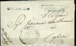 Maddaloni-1 - Piego Senza Testo - 1. ...-1850 Prefilatelia