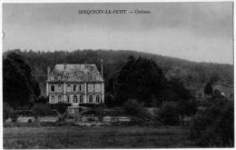 Serquigny Le Petit  Eure Chateau Bon Plan 1910 état Superbe - Serquigny