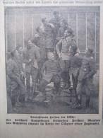 Held Rittmeister Freiherr Von Richthofen Anno 1914 - 1918 Zeitung Newspaper Clipping Journal WK1 WWI Krieg War Guerre - Luchtvaart