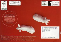 ROYAL MAIL COMMUNICATION STAMPS EMISSION 2013 CHRISTMAS - MADONNA & CHILD NOEL - Gran Bretaña
