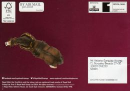 ROYAL MAIL COMMUNICATION STAMPS EMISSION 2014 WORKING HORSES - Gran Bretaña