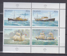 ISLANDE      1991          N°   706 / 709           COTE       15 € 00 - 1944-... Republique