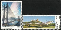 2013-ED. 4816 Y 4817- PUENTES DEL DRAGÓN ALCALÁ DE GUADAIRA ( SEVILLA ) Y DEL INGENIERO CARLOS FERNÁNDEZ CASADO DE LEÓN- - 2011-... Unused Stamps