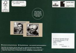 ROYAL MAIL COMMUNICATION STAMPS EMISSION 2014 REMARKABLE LIVESOF MOST NOTABLE CITIZENS - Gran Bretaña