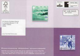 ROYAL MAIL COMMUNICATION STAMPS EMISSION 2014 GLASGOW - XX COMMONWEALTH GAMES - Gran Bretaña