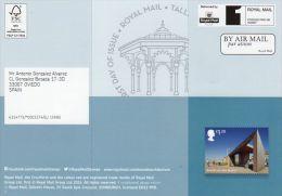 ROYAL MAIL COMMUNICATION STAMPS EMISSION 2014 SEASIDE ARCHITECTURE - Gran Bretaña