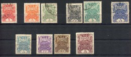 Russia , Tuva , SG 1-10, 1926,Definitives,complete Set,mixed Used And Mint Without Gum - 1923-1991 USSR